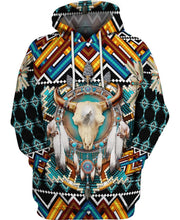 Load image into Gallery viewer, Native American Buffalo Blue
