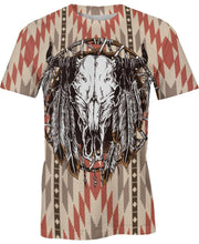 Load image into Gallery viewer, Native American Buffalo Pattern
