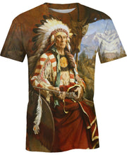 Load image into Gallery viewer, Native American Prairie Indian Chief