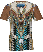 Load image into Gallery viewer, Native American Necklace Bison Skull