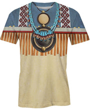Load image into Gallery viewer, Native American Patterns Necklace