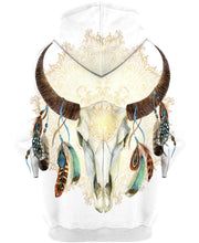 Load image into Gallery viewer, Native American Buffalo Skull Bright