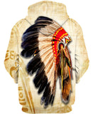 Native American The Hat Of Indian Chief
