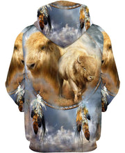 Load image into Gallery viewer, Native American Spirit White Buffalo