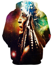 Load image into Gallery viewer, Native American Galaxy Indian Chief