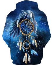 Load image into Gallery viewer, Native American Galaxy Blue Eagle