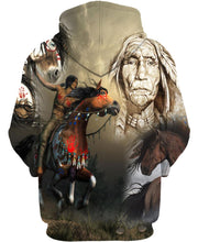 Load image into Gallery viewer, Native American Horse Warrior