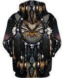 Native American Dark Purple Eagle