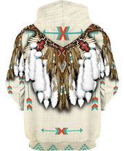 Load image into Gallery viewer, Native American Feathers Motif