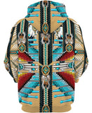 Native American Turquoise Pattern