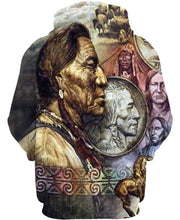 Load image into Gallery viewer, Native American Indian Chiefs Art Carving