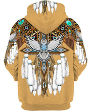 Load image into Gallery viewer, Native American White Owl Feathers