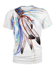 Load image into Gallery viewer, Native American Feathers In Wind