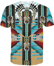 Load image into Gallery viewer, Native American Turquoise Pattern