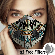 Load image into Gallery viewer, Native American Velcro Mask 53