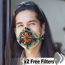 Load image into Gallery viewer, Native American Velcro Mask 01