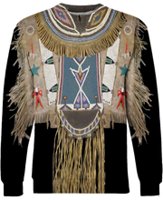 Load image into Gallery viewer, Native American Black Traditional