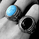 Antique Navajo Blue Stone Ring