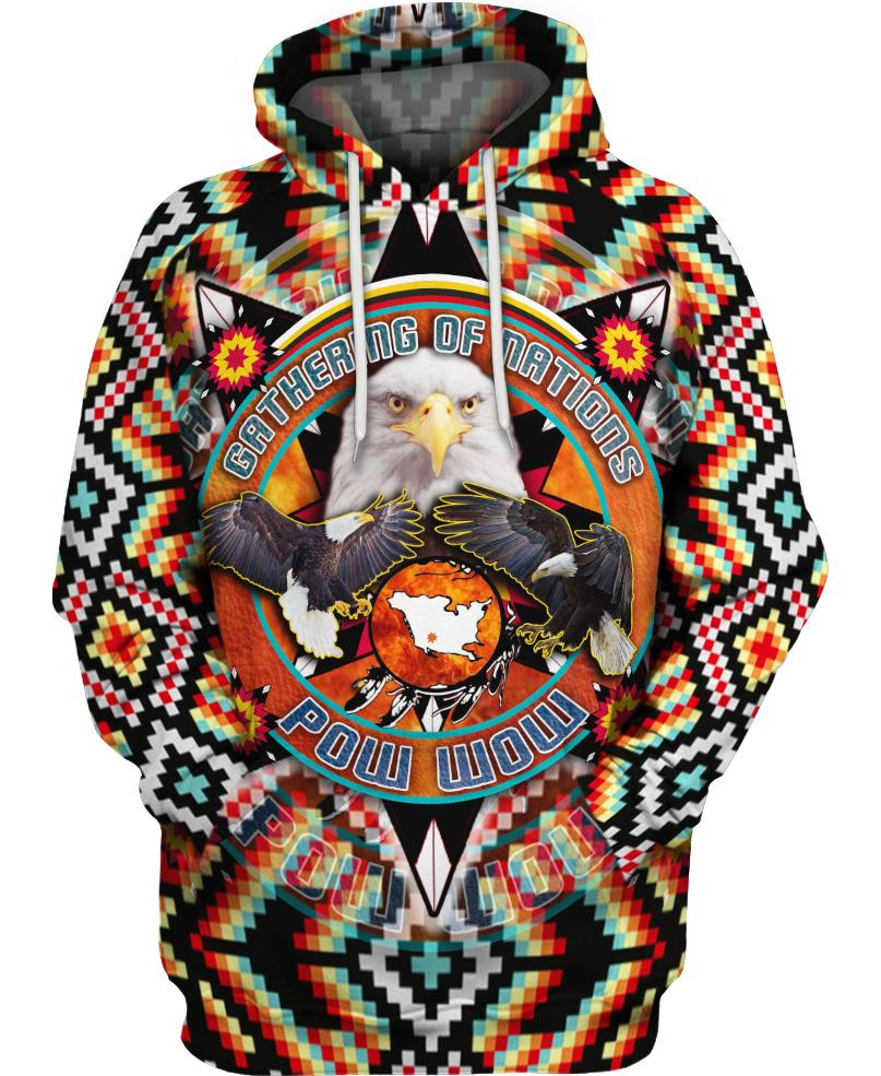 Native American Eagle Multi-Colour