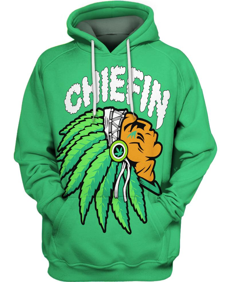 Native American Green Chiefin