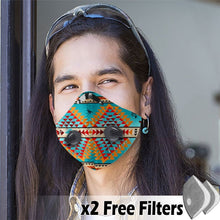 Load image into Gallery viewer, Native American Velcro Mask 13