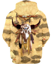 Load image into Gallery viewer, Native American Buffalo Skull