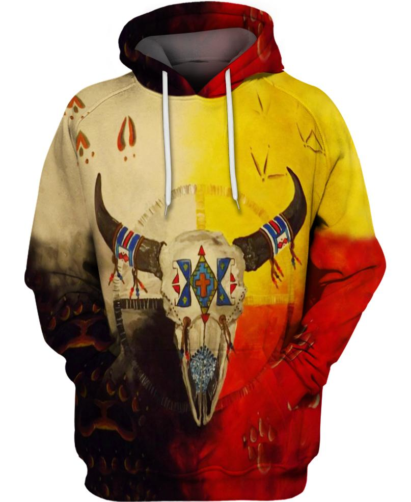 Native American Buffalo Multi-Color