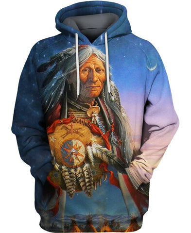 Native American Powerful Chief
