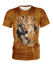 Load image into Gallery viewer, Native American Brown Wolf