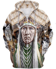 Load image into Gallery viewer, Native American Indian Wolf