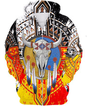 Load image into Gallery viewer, Native American Buffalo Colourful