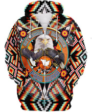 Load image into Gallery viewer, Native American Eagle Multi-Colour