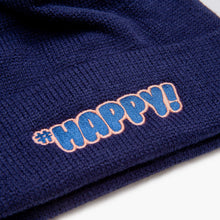 Load image into Gallery viewer, #Happy! Beanie Blue