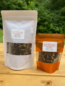 Organic Peach Cobbler Loose Leaf Black Tea