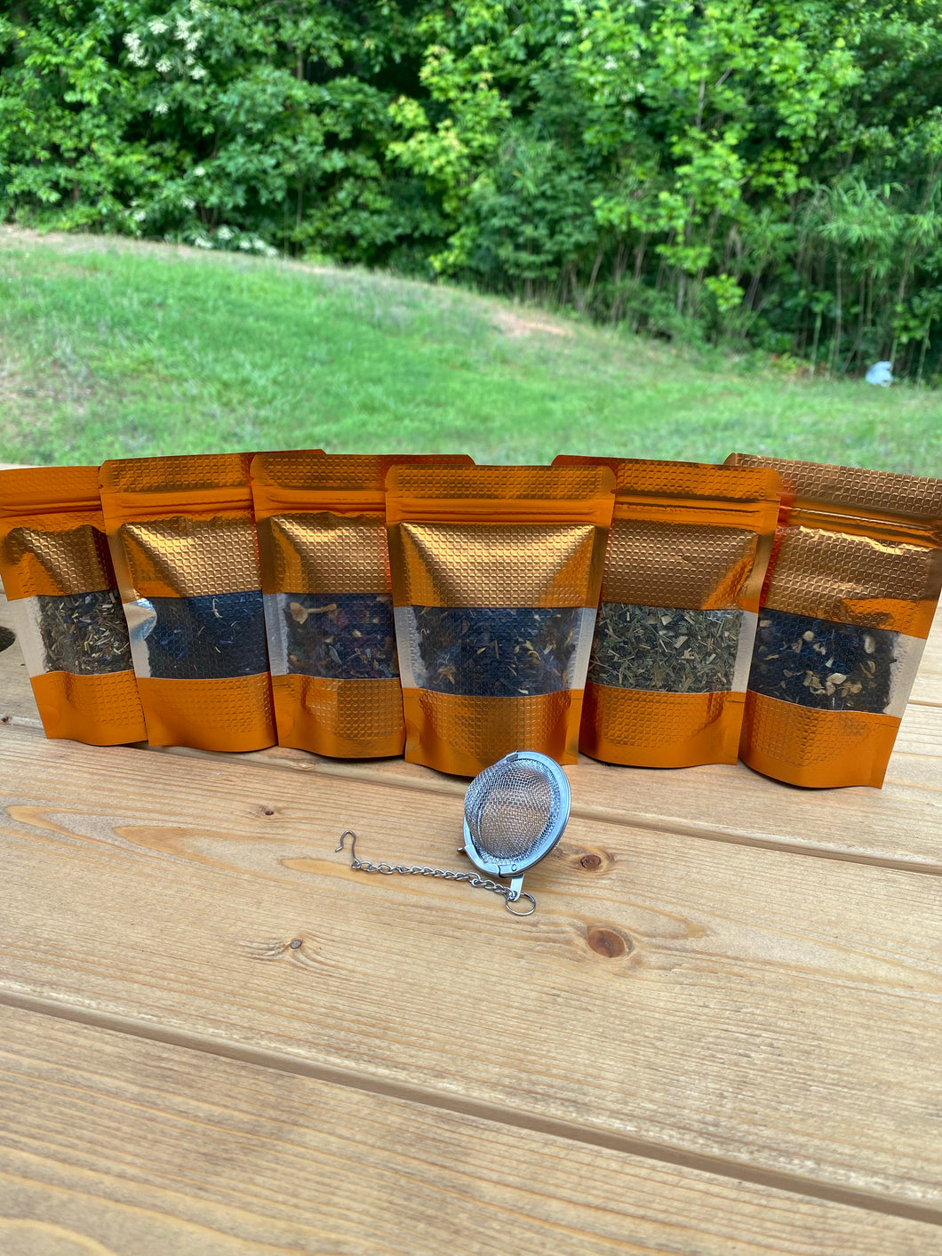 Loose Leaf Tea Sample Box