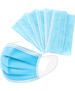 3 PLY Face Masks 50pk