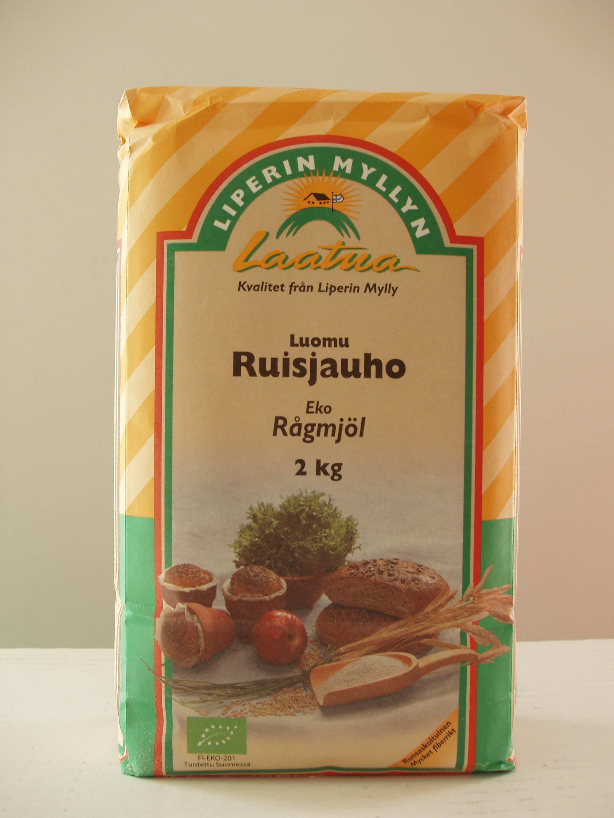 Luomu Ruisjauho 2kg