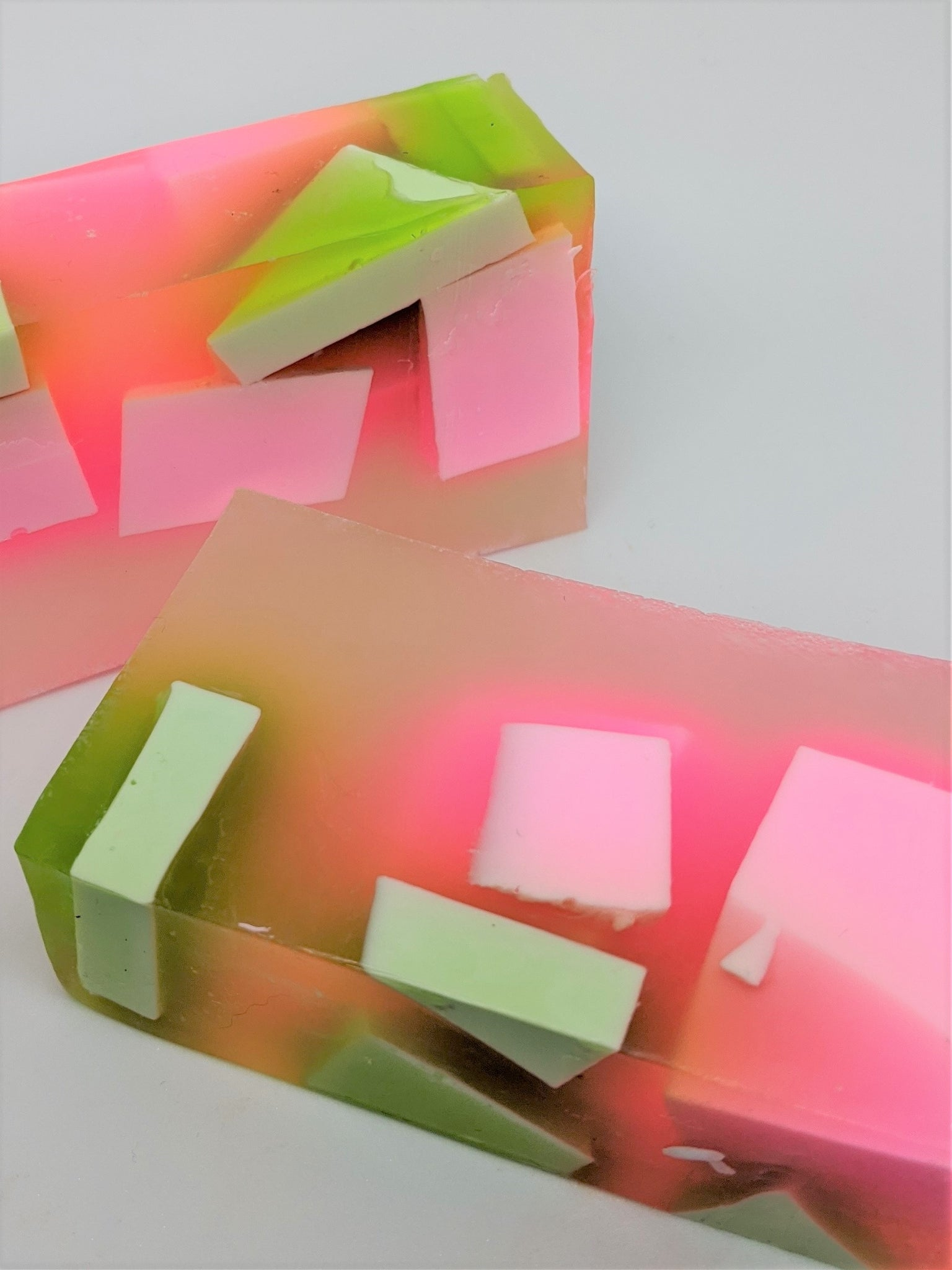 Pink & Green Apple Soap Bar