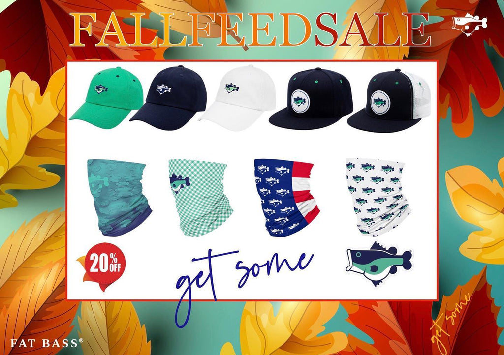 FALL FEED SALE 🍂20% OFF Store Wide 🎣 ⠀