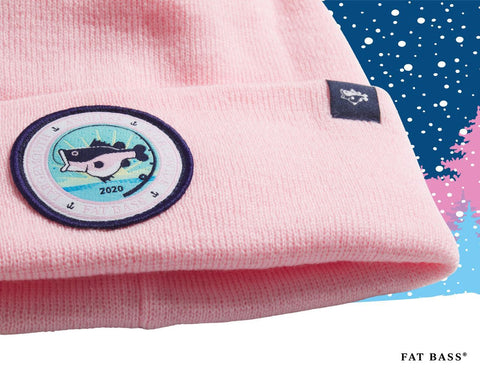 Fat Bass Pink Beanie holiday gift