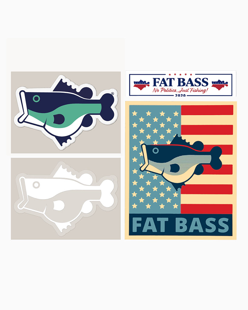 The Fat Bass LOGO LOVE 4 Pack - Fat Bass