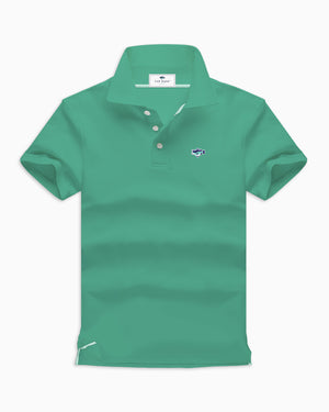 Green Polo Shirts - Fat Bass
