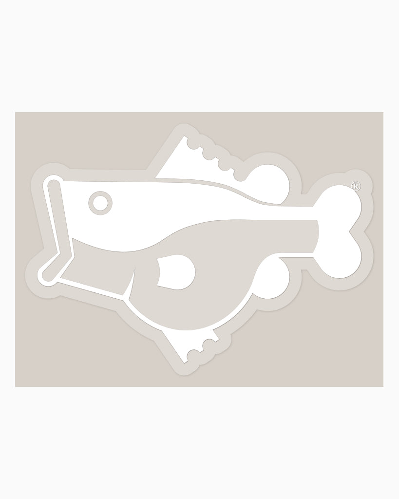 Fat Bass Logo Vinyl Decal - Fat Bass