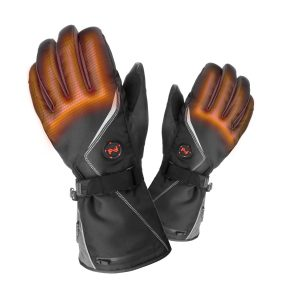 MOBILE WARMING - Electric Heated Textile Storm Gloves -   with 12 Months' Warranty