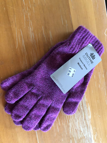 Possum Gloves NZ Made Thick & Warm Duthie & Bull NZ Great for large hands -  super generous sizing!