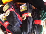 MERINO Wool Socks 3 pack - Mid length ribbed - NZ Made 3 sizes Unisex - Great Value