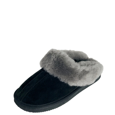 Sheepskin Scuff Ladies  - Te Anau - Blue or Red - Mi Woollies