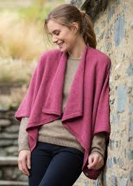 NOBLE WILDE- Ladies Possum Merino Which Way Cape - optional styles..