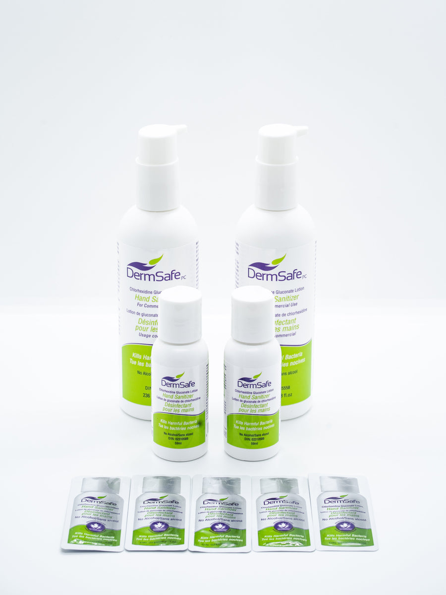 DermSafe Sanitizer Product Showcase