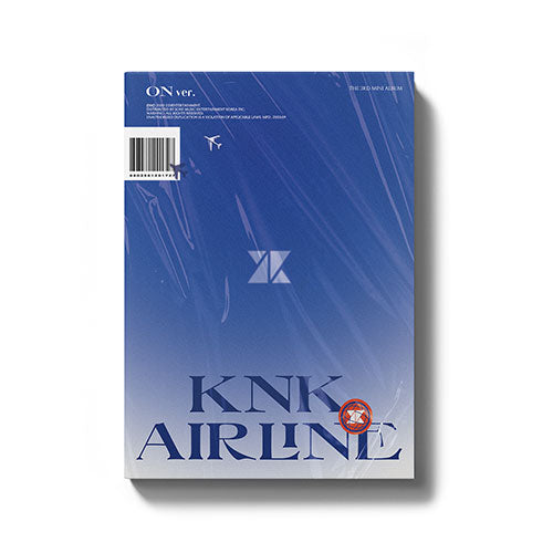 KNK (크나큰) 3RD MINI ALBUM - [KNK AIRLINE]